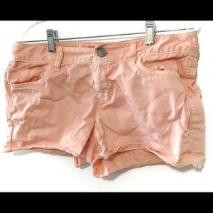 Loft peachy cut off short shorts 2 for $10